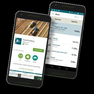 Planteavl fjordland IT FarmTracking mobil app